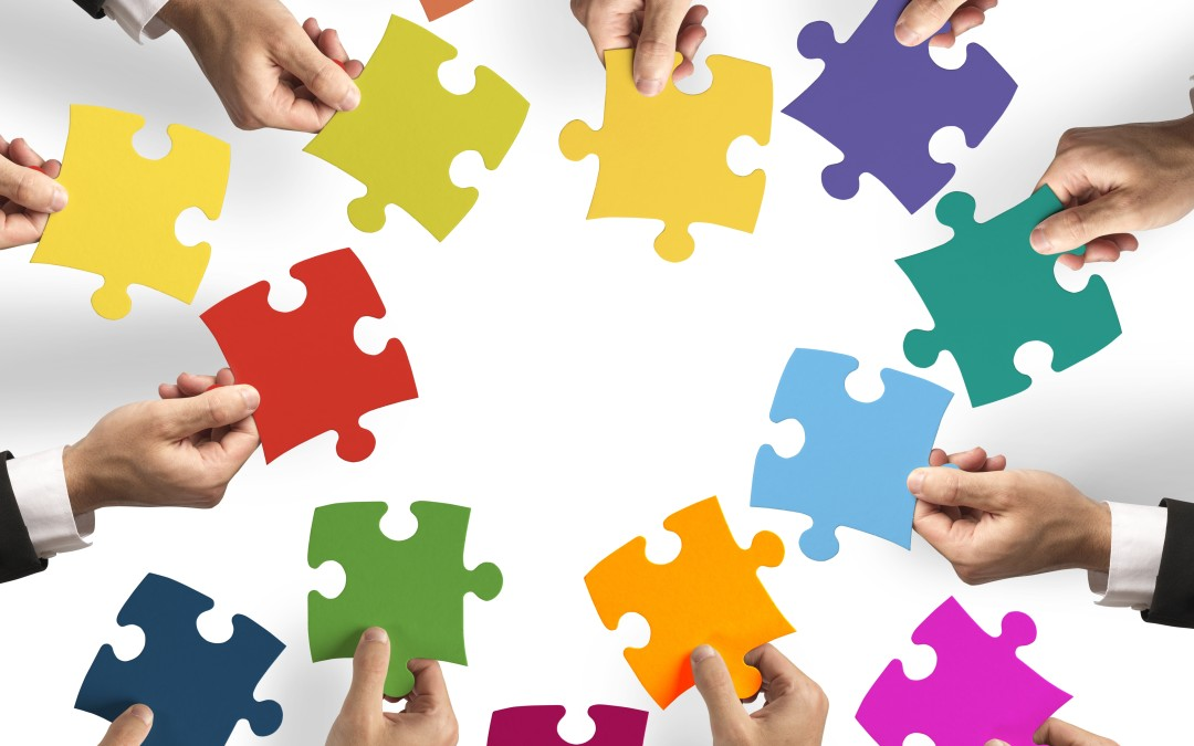 6 stages to co-creation in groups